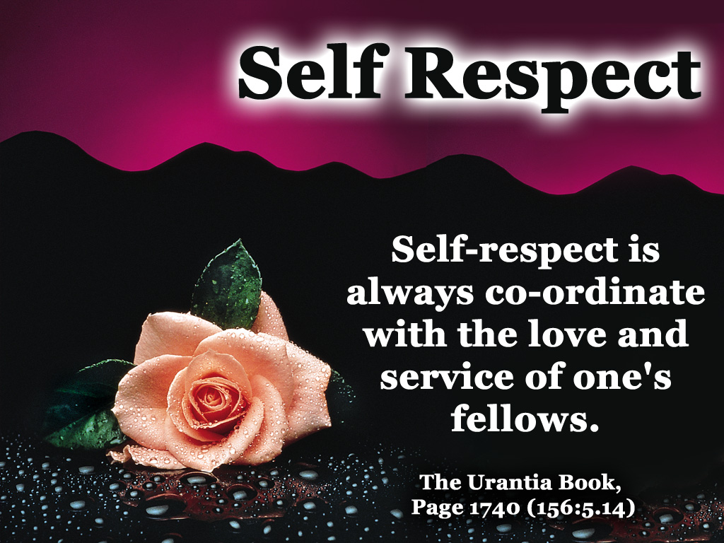 How to grow self respect