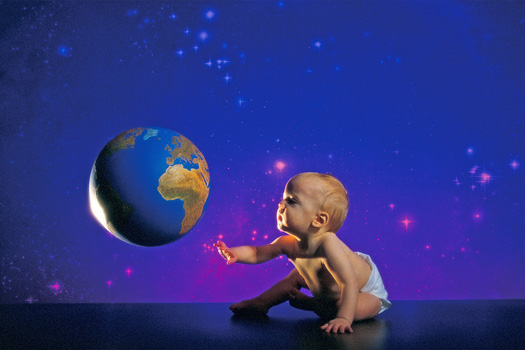 Earth and Baby